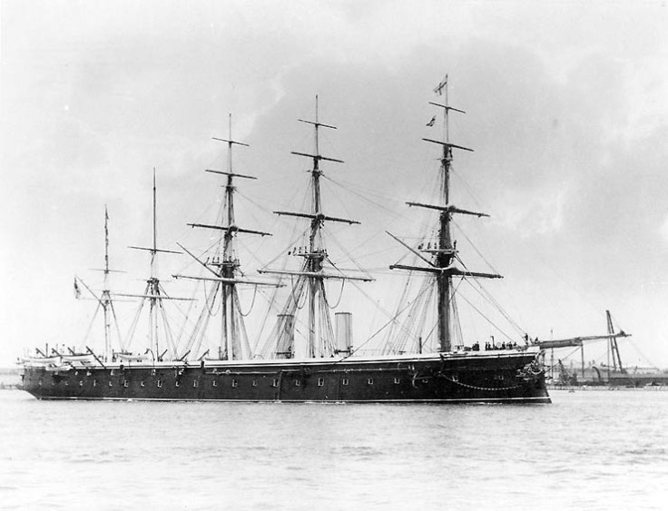 HMS Ganges (as HMS Minotaur)